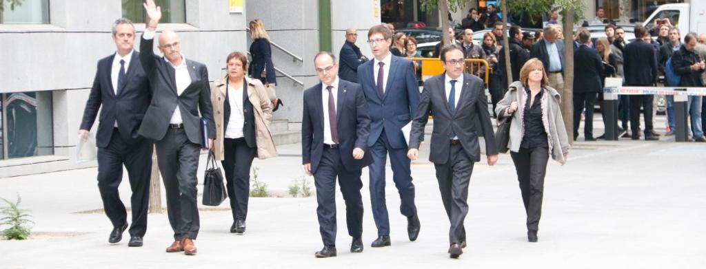 Comunicat: El CCN condemna l'empresonament del Vicepresident i dels set Consellers.