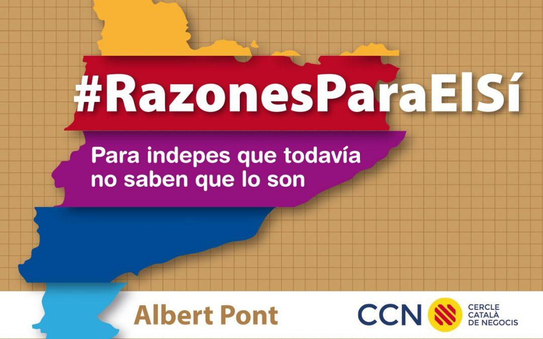 #RazonesParaElSí, el libro cargado con las razones económicas para la independencia (versión en ESP)