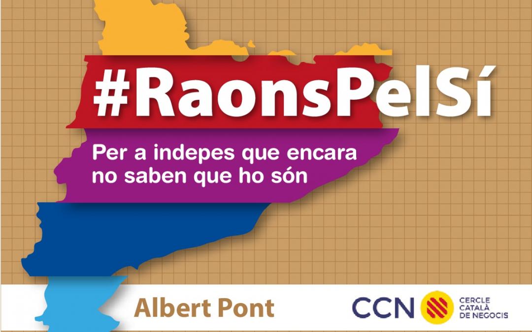 #RaonsPelSí, el llibre carregat amb les raons econòmiques per la independència (versió en CAT)